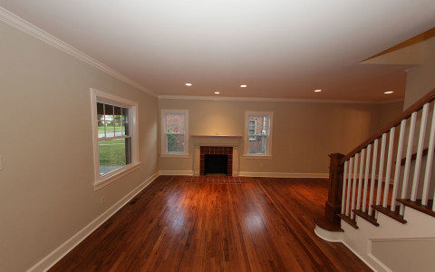230 Chenault Road, Lexington, KY - Residential Remodel ©2016 Benezet & Associates